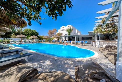 Alia Hotel Pool Area